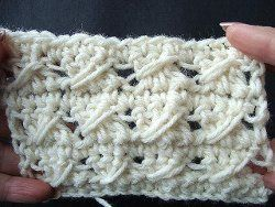 Learn how to crochet this classic crochet stitch in only eight steps. This is an easy crochet tutorial to follow and only four stitches are needed to do the cable stitch.