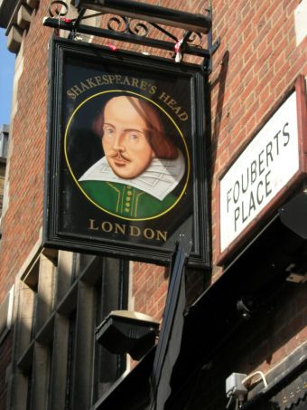 The Shakespeare's Head, Soho - London