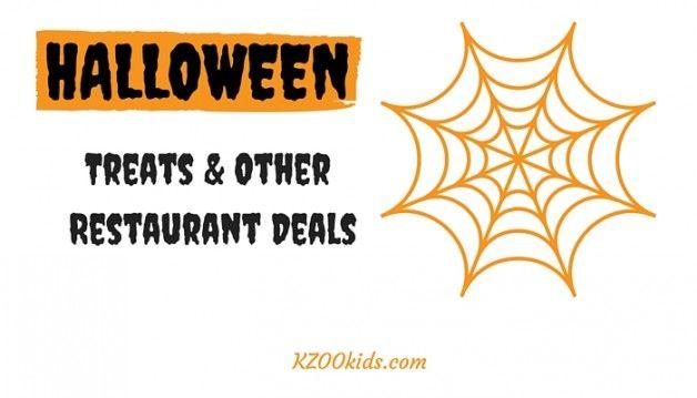 halloween restaurant specials