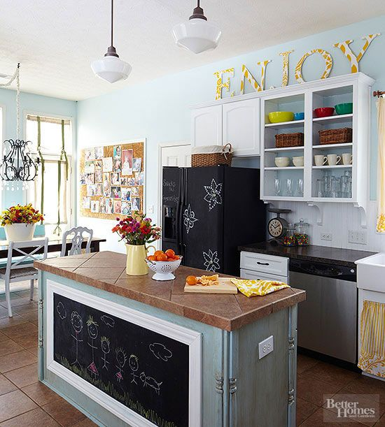 22 ways to add personal style to your kitchen without spending a lot of money.