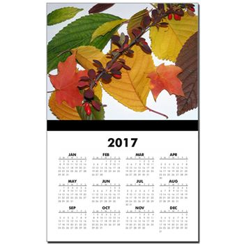 Autumn Leaves Calendar  by Khoncepts