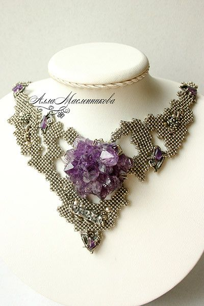 Magic jewellery by Alla Maslennikova   Beads Magic