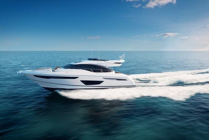 Princess S60, le plus petit modèle de la Class S pour les sports nautiques et le farniente