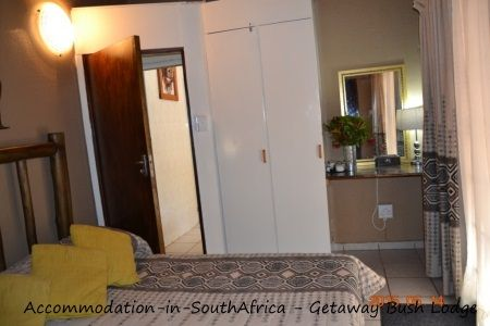 Comfortable rooms at Getaway Bush Self Catering House. Marloth Park Accommodation.