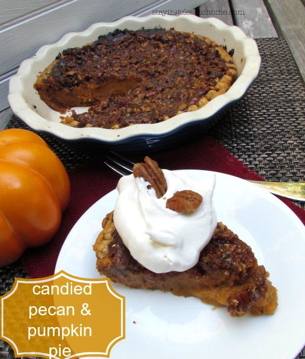 candied pecan pumpkin pie with Bourbon Cool Whip that started off as a ...