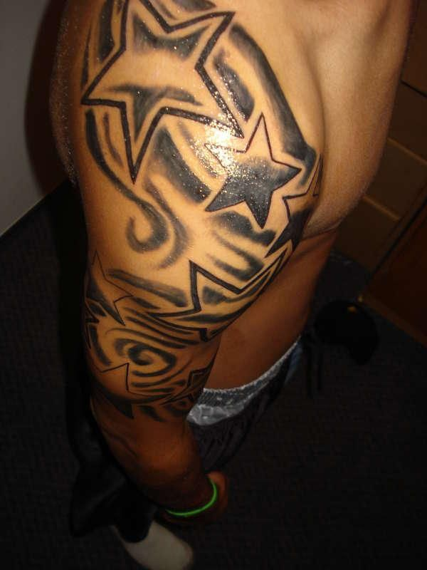 tattoos for guys | 30 Awesome Star Tattoos For Men - SloDive