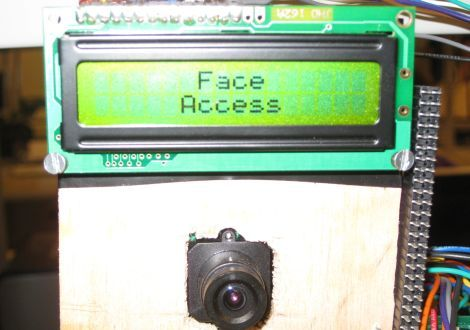 Cheap and reliable portable face recognition system