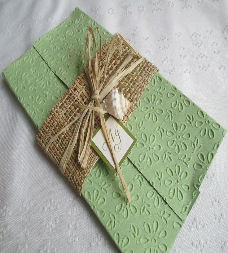 Dise os de invitaciones r sticas para boda con 11 ejemplos - Disenos tarjetas de boda ...