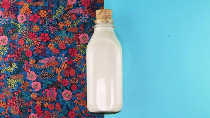 Como fazer leite de amêndoas