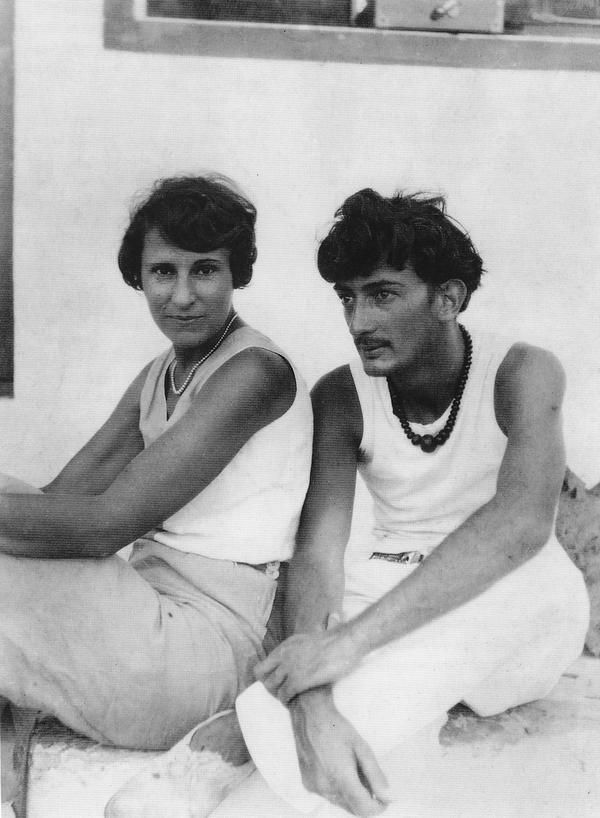 Salvador with Gala.Look at that adonis.