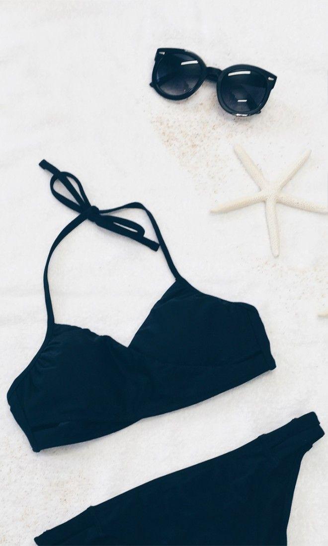 Black Bikini + Sunnies