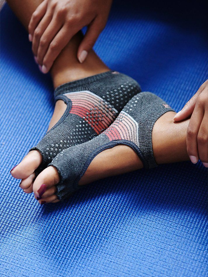 toesox Namaste Yoga Sock at Free People Clothing Boutique... I HAVE to get some…