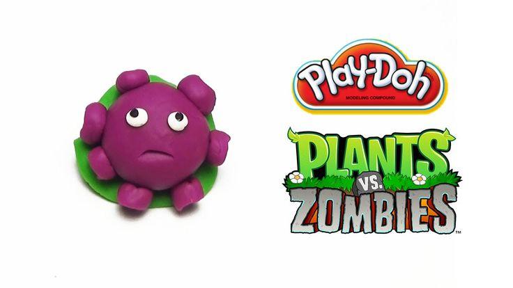 Play-Doh Plants vs Zombies Garden Warfare Gloom-shroom from Plants Vs. Z...