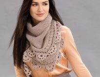 Схемы вязания шарфов спицами на Verena.ru