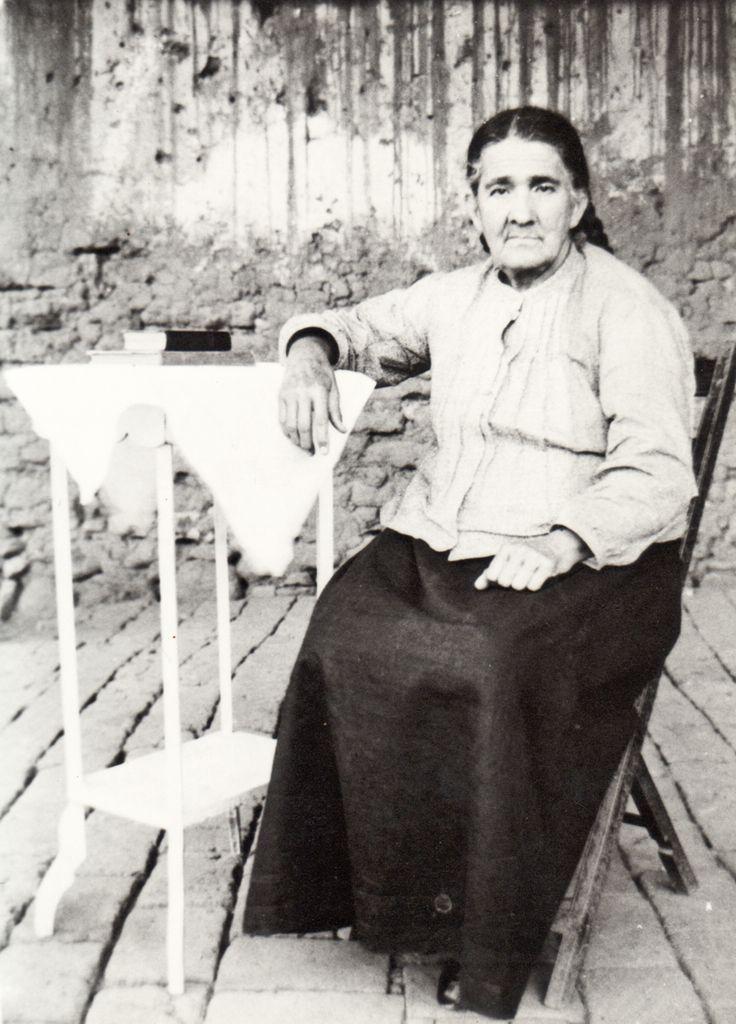 Soledad Camacho de Uribe en Atenguillo