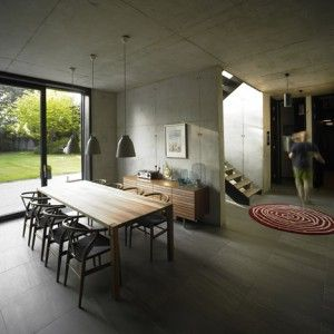 Snook Architects combines brick and concrete  for suburban house in Liverpool