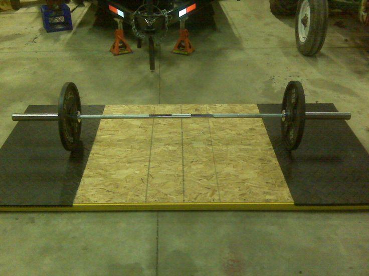 Bumper plate floor diy crossfit fitness pinterest