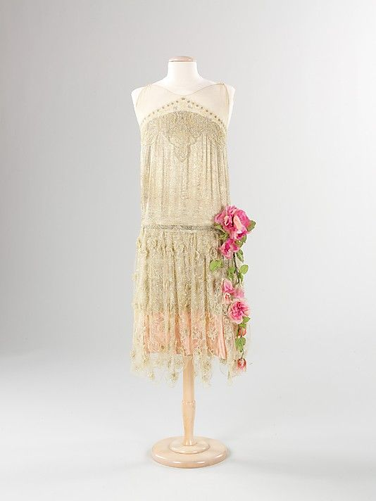 Evening dress, circa 1925