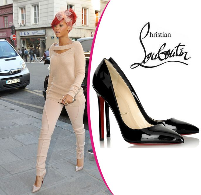 Rihanna in Christian Louboutin