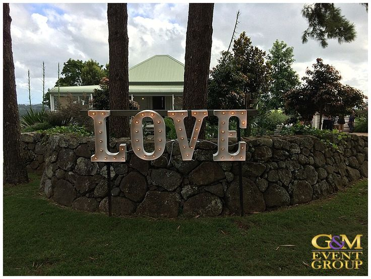 Byron View Farm Wedding DJ + MC - Love Letters @byronbaywedding