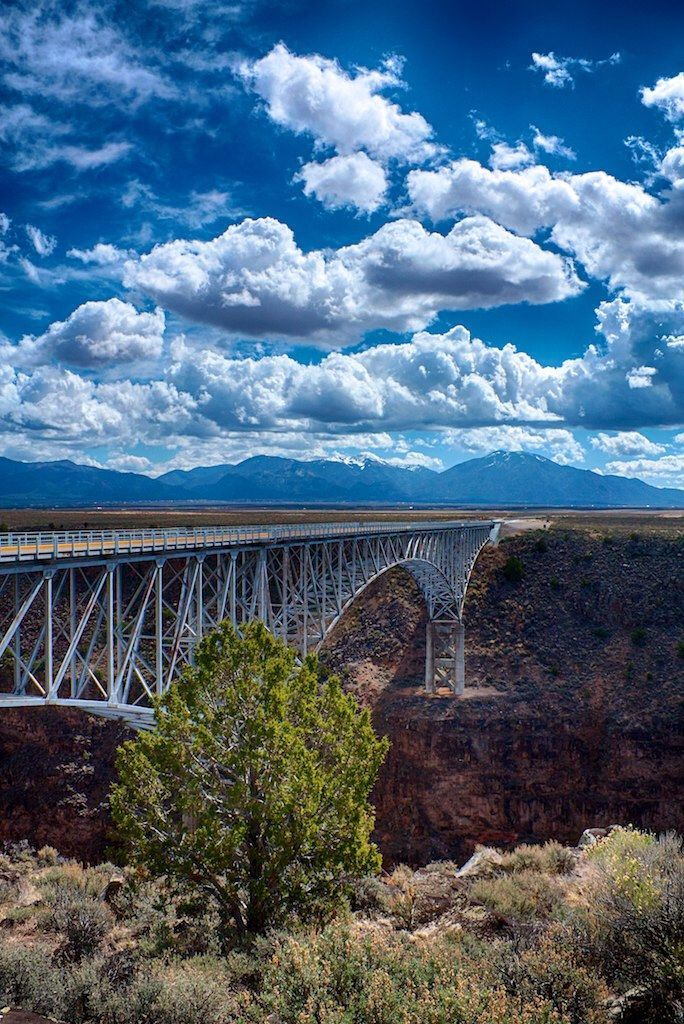 Stood on the look out ledge , what an amazing view!Rio Grande Gorge Bridge – New Mexico – USA