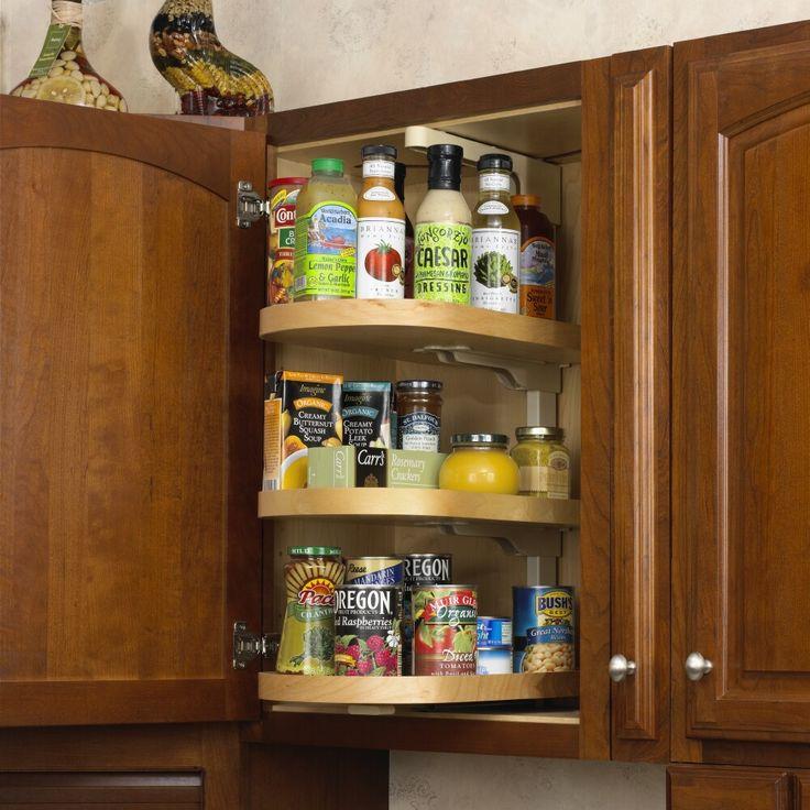 Get Creative With These Corner Kitchen Cabinet Ideas: Top 25 Ideas About Corner Shelves Kitchen On Pinterest