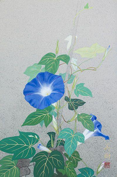 朝顔  2015年-35-野地美樹子