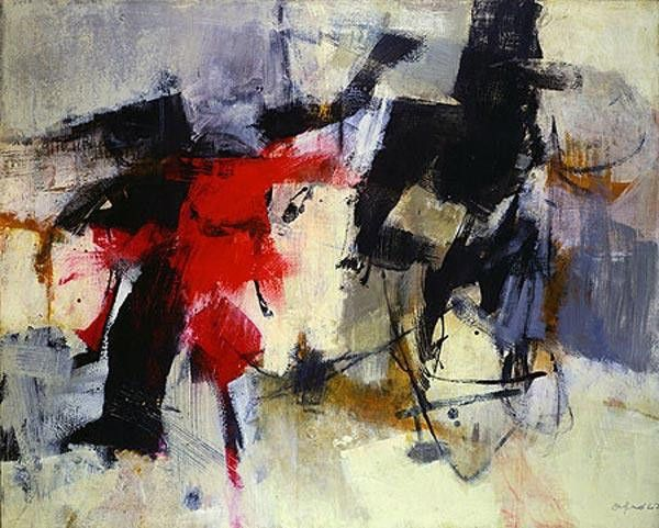 Афро Базальделла. Абстрактный экспрессионизм
