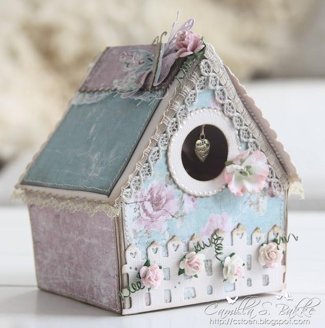 Cards by Camilla: DT Maja Design ♥ Birdhouse