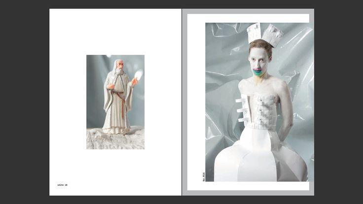 Paper Dress No. 14  by Tobias Binderberger