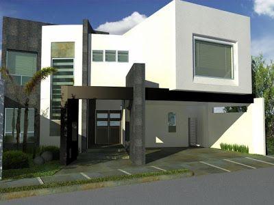 M s de 25 ideas incre bles sobre fachadas contemporaneas - Colores para fachadas rusticas ...