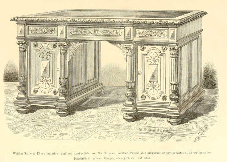 img/dessins meubles mobilier/secretaire imitation ebene.jpg