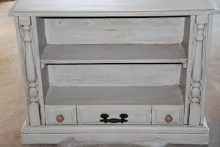 old tv cabinet redo