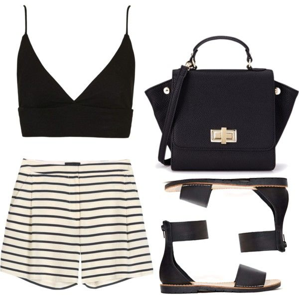 """""""Untitled #302"""" by style-by-gabriella on Polyvore"""