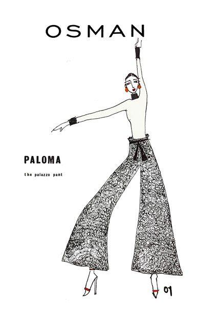 Osman Harvey Nichols Perfect Trousers Woolmark (Vogue.co.uk)