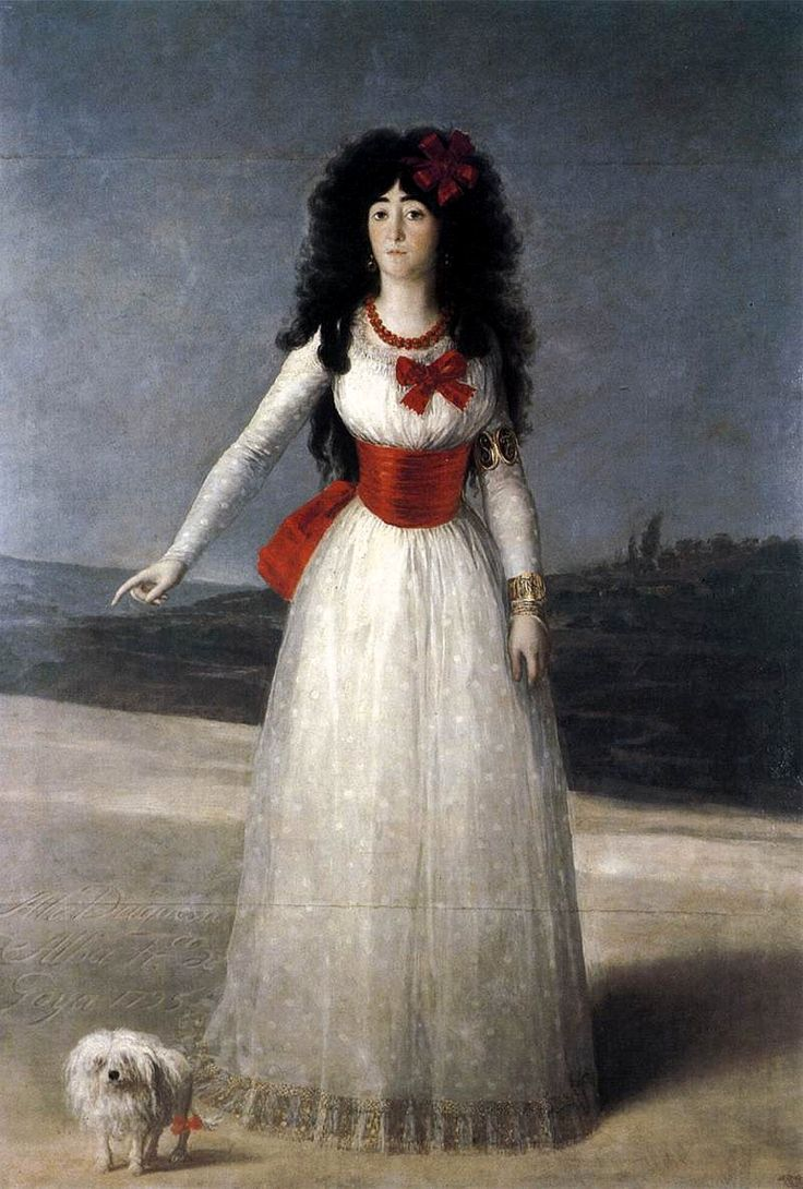 Goya, The White Duchess: Goya, The Duchess, Francisco Goya, Oil On Canvas, Duquesa De, The White, Francisco De, Portraits, La Duquesa
