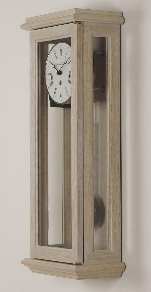 cassa in legno massello noce verniciato e sbiancato