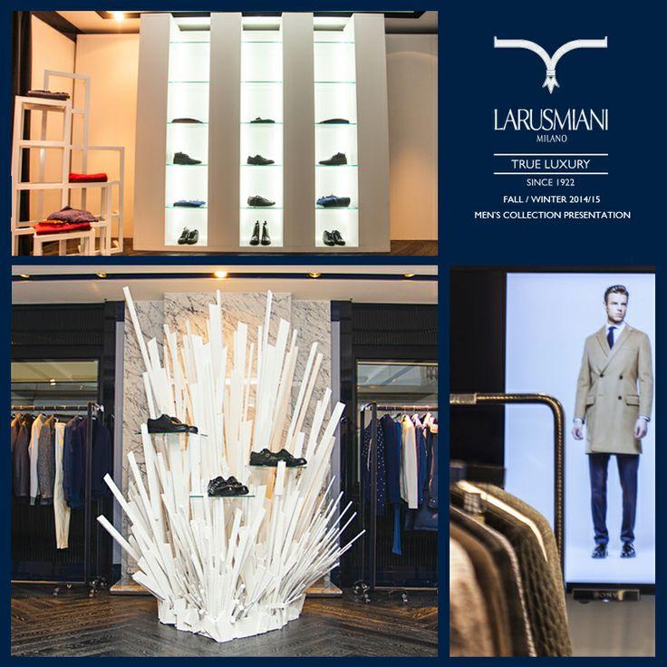Larusmiani Men's collection Fall/Winter  2014/15 Presentation – 13/01/2014 Arctic Visions and Nordic landscapes #style #luxuryclothing #handmade #larusmiani #stilish #MFW www.larusmiani.it
