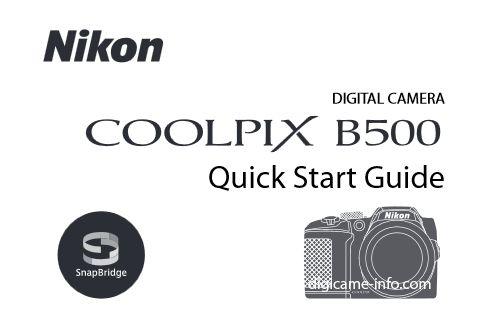 Ecco la nuova Coolpix B500