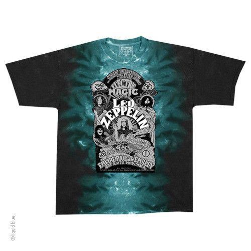 Led Zeppelin Electric Tie Dye T-shirt