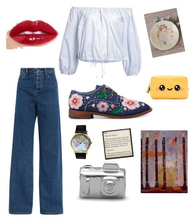Artsy by artsydudette on Polyvore featuring polyvore, Sea, New York, Y/Project, Anouki, Anya Hindmarch, fashion, style and clothing