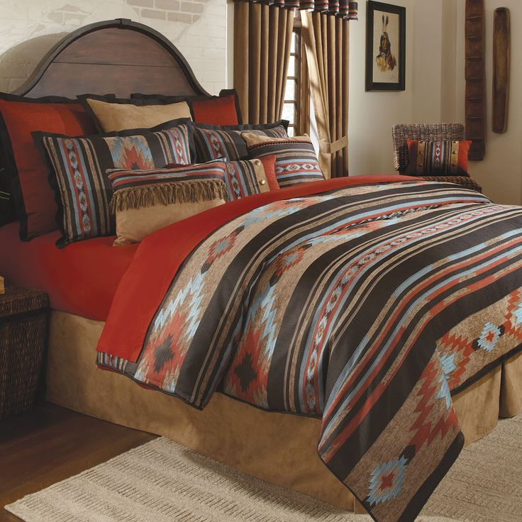 Santa Fe Southwest Comforter Bedding By Veratex