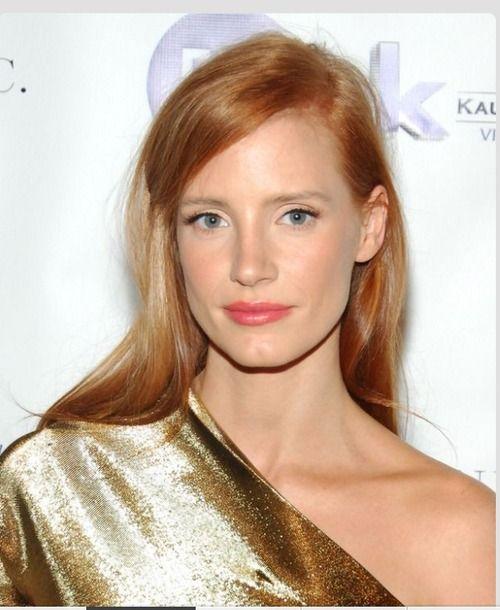 Wedding Hair Color Ideas: Copper Red Hair, Jessica