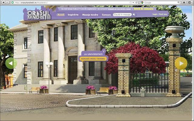 Ideea and creative by  - Saatchi & Saatchi Romania  Site graphics by - Golem Studio  Client - Milka