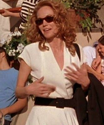 "Love ""the white dress"" Diane Lane wore in ""Under the Tuscan Sun"", very classic…"
