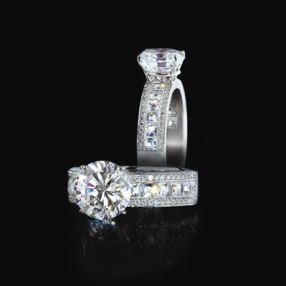 Love this!!! The thicker band seems more practical..plus more diamonds!! If my love doesn't get me this I will get it myself LOL!! : )