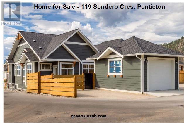Home for Sale - $570,000, 119 Sendero Cres, Penticton #home  #house  #homeforsale  #houseforsale  #realestate  #pentictonhomes