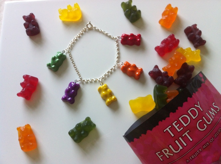 Teddy Fruit Gum Bracelet Food Jewellery Charm Eleon39s