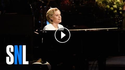 "Election Week Cold Open - SNL: Hillary Clinton (Kate McKinnon) performs Leonard Cohen's ""Hallelujah."" Get more SNL: Full Episodes: ... Like…"