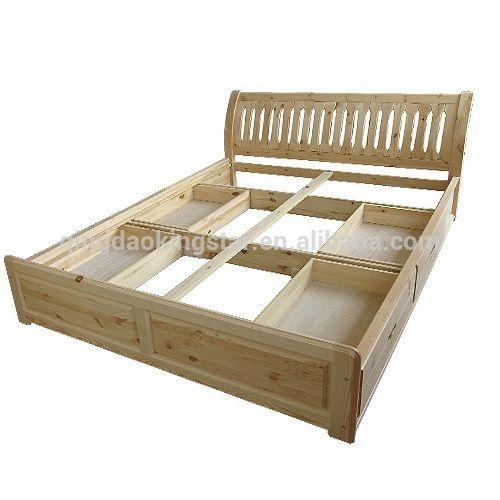 17 migliori idee su letti in legno su pinterest stanze for Piani di casa a buon mercato